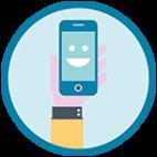 Telefono sostitutivo per tutta la durata della riparazione del tuo telefonino.
